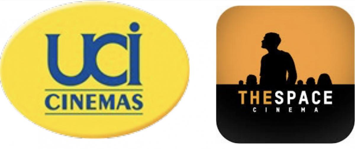 """Convenzione Biglietti """"The Space Cinema"""" e """"UCI Cinemas"""""""